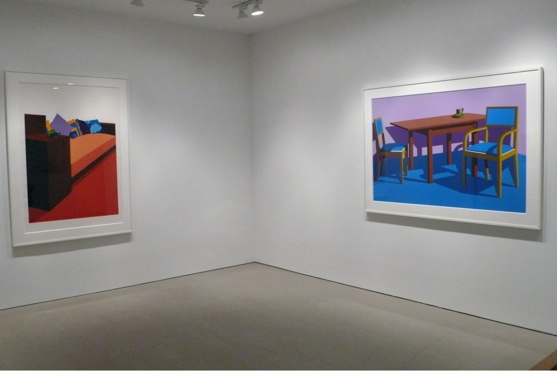 Left to Right: Green Turtle Cup 1971, Coffee Shop at the Chicago Art Institute 1971