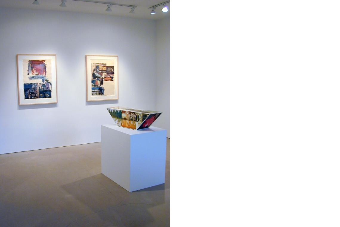 Left to Right: Next Room (Marrakitch) 2000, Flaps (Marrakitch) 2000, Tibetan Keys (Double Bevel) 1986