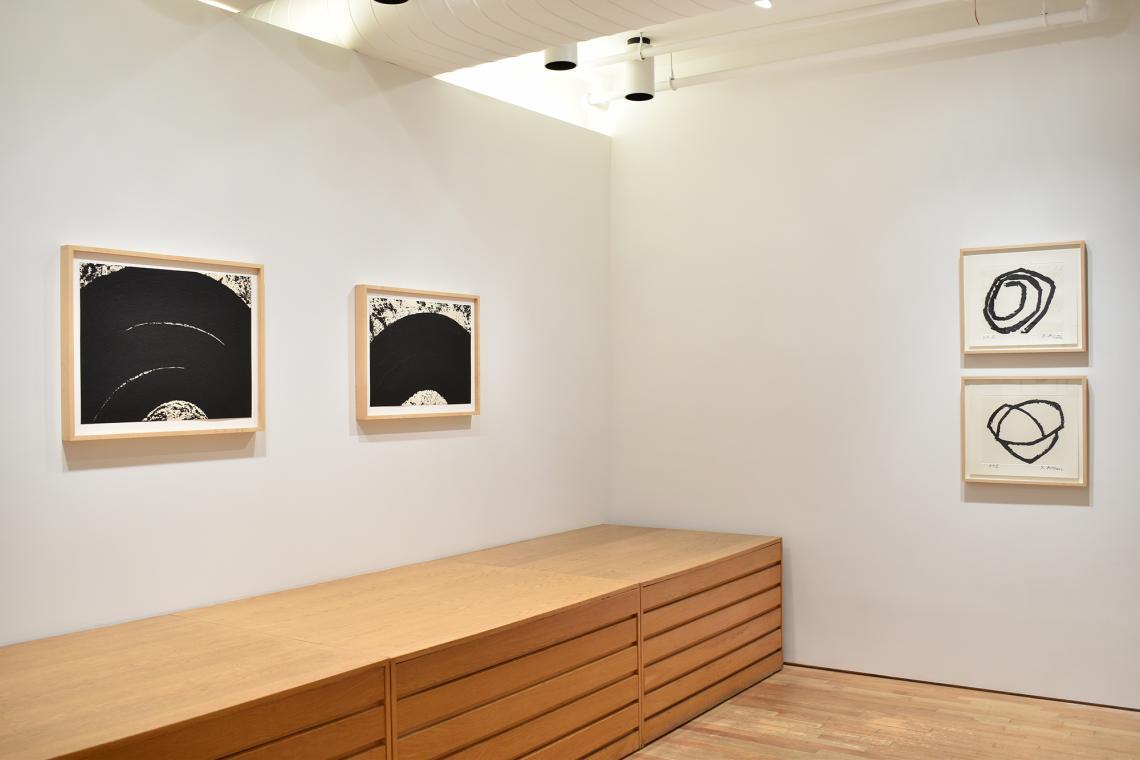 Richard Serra, Paths and Edges #9, 2007; Paths and Edges #10, 2007; Venice Notebook 2001, #5, 2002; Venice Notebook 2001, #3, 2002.