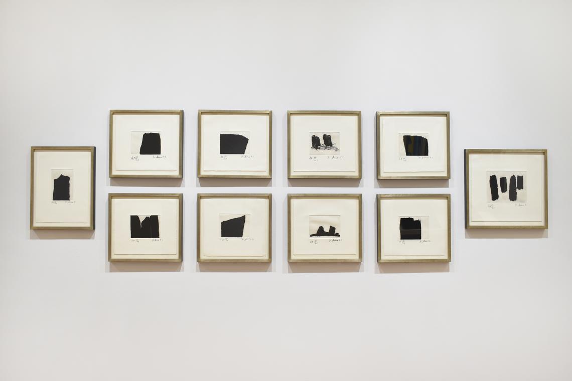 Richard Serra, Videy Afangar Series, 1991.