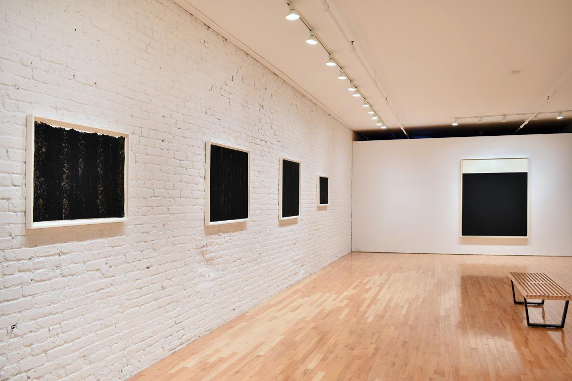 Richard Serra, Composite VII, 2019; Composite XVIII, 2019; Composite XIII, 2019; Composite II, 2019; Weight IX, 2013.