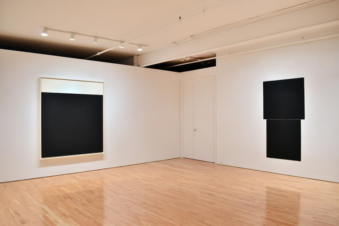 Richard Serra, Weight IX, 2013; Equal I, 2018.