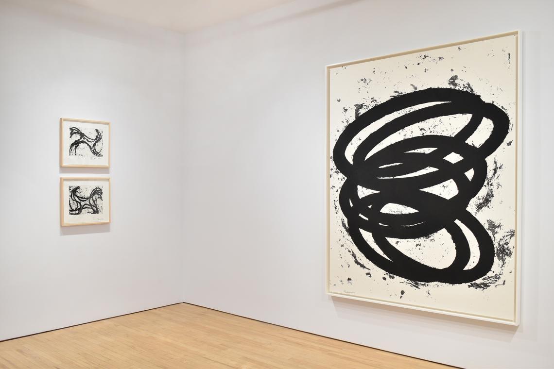 Richard Serra, Junction #1, 2010; Junction #13, 2010; Finally Finished II, 2017.