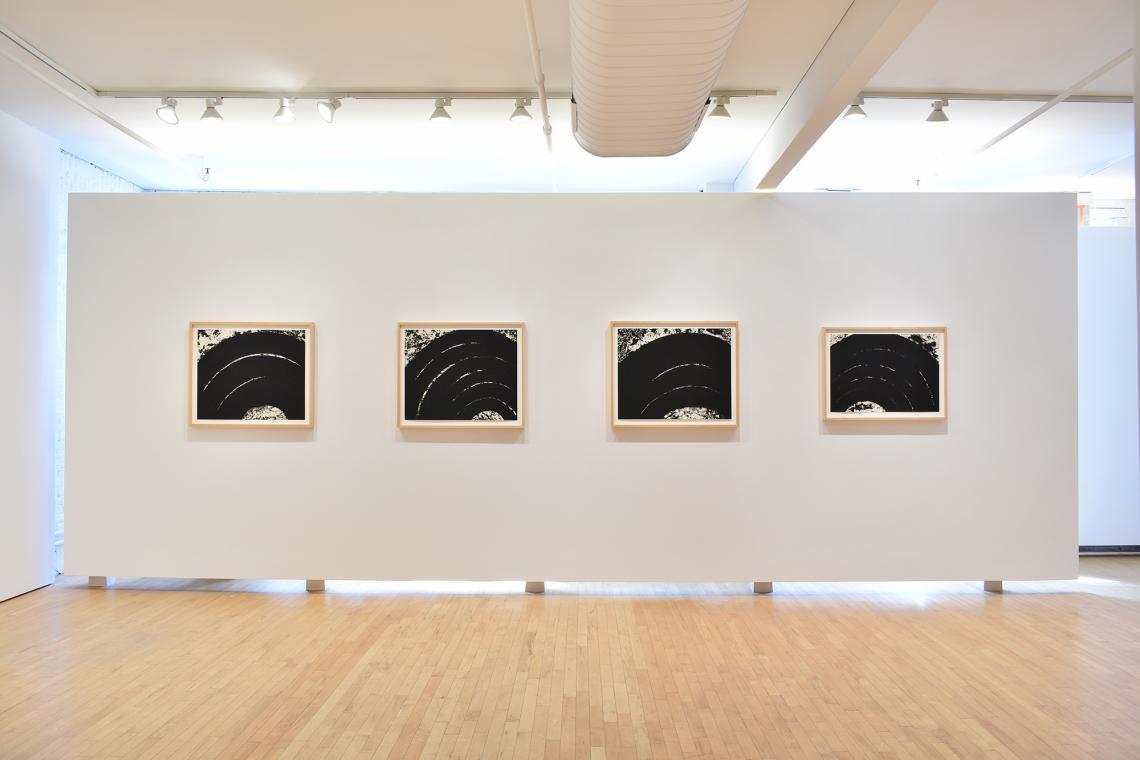 Richard Serra, Paths and Edges #12, 2007; Paths and Edges #11, 2007; Paths and Edges #8, 2007; Paths and Edges #7, 2007.