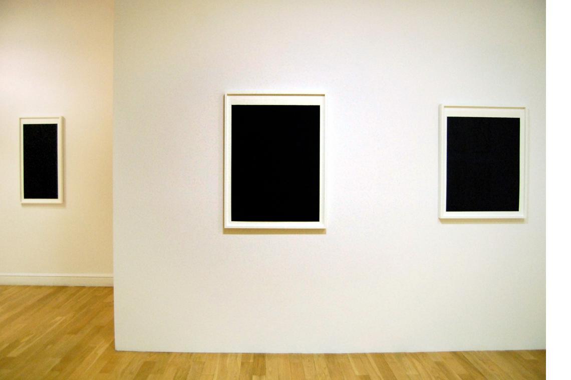 Richard Serra: Bright & Ballast 2011 Exhibition