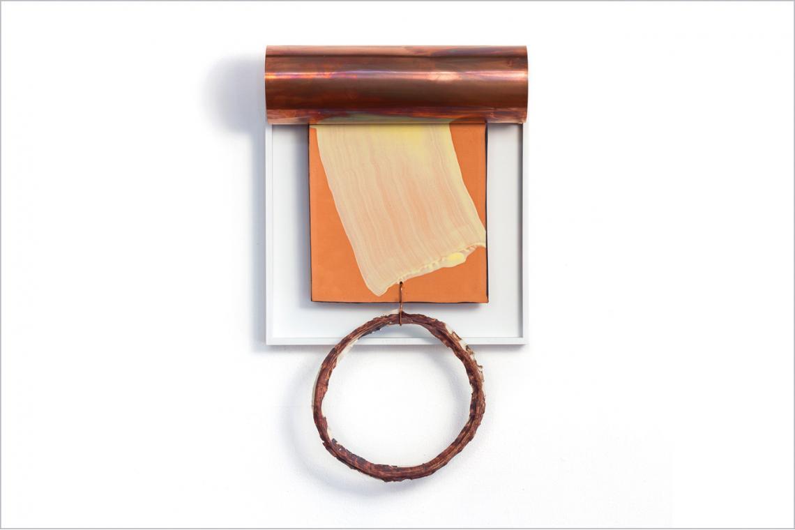 Richard Tuttle, Tile, V (Nine Inches), 2011
