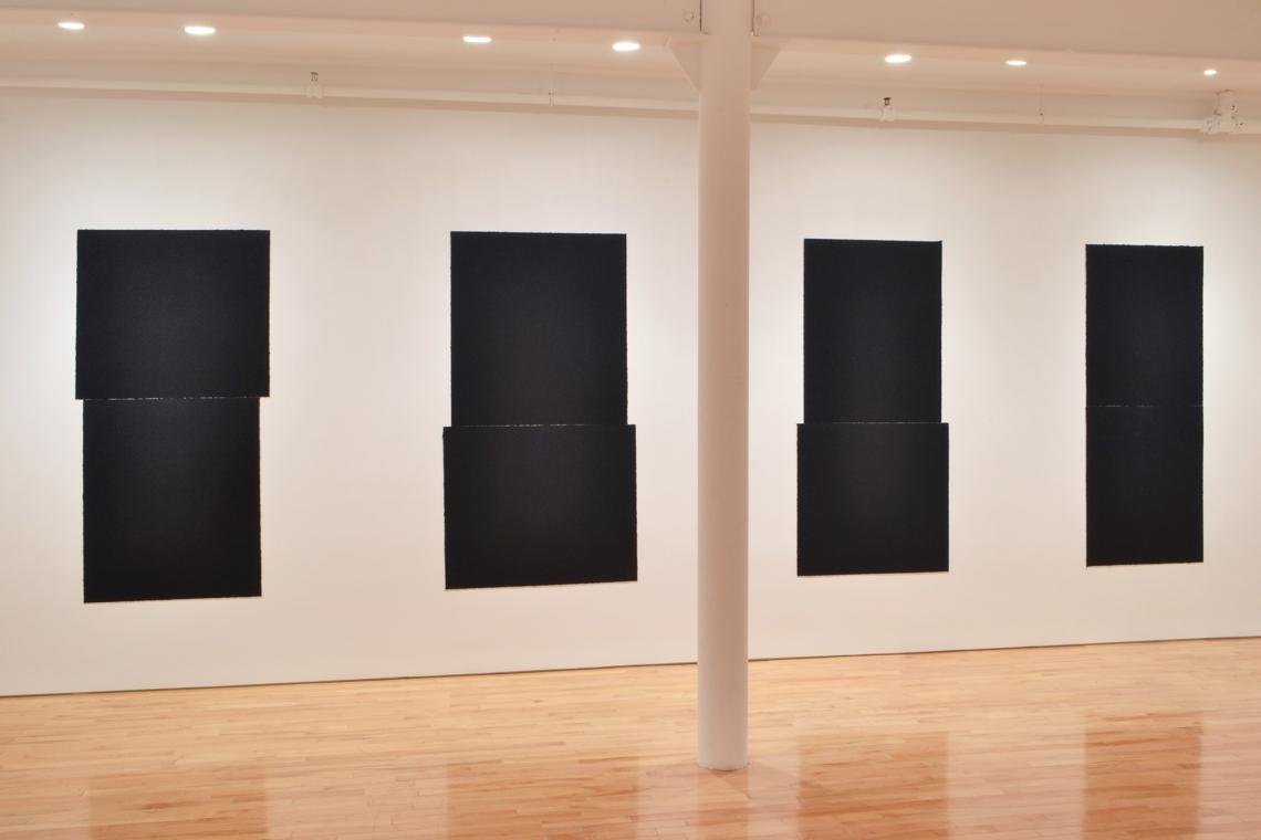 Richard Serra, Equal IV, 2018; Equal V, 2018; Equal VI, 2018; Equal VII, 2018.