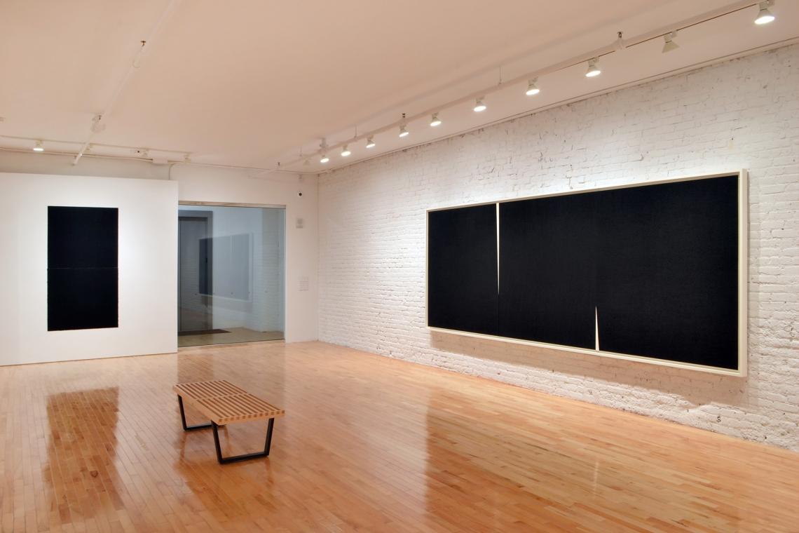 Richard Serra, Equal VIII, 2018; Double Rift IV, 2014.