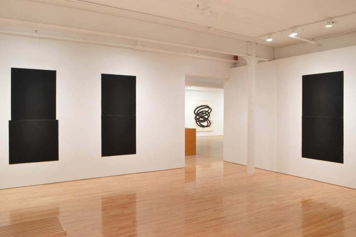 Richard Serra, Equal VI, 2018; Equal VII, 2018; Finally Finished II, 2017; Equal VIII, 2018.