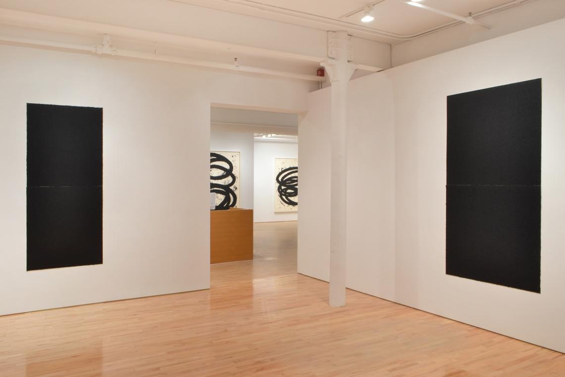 Richard Serra,Equal VII, 2018; Finally Finished I, 2017; Finally Finished II, 2017; Equal VIII, 2018.