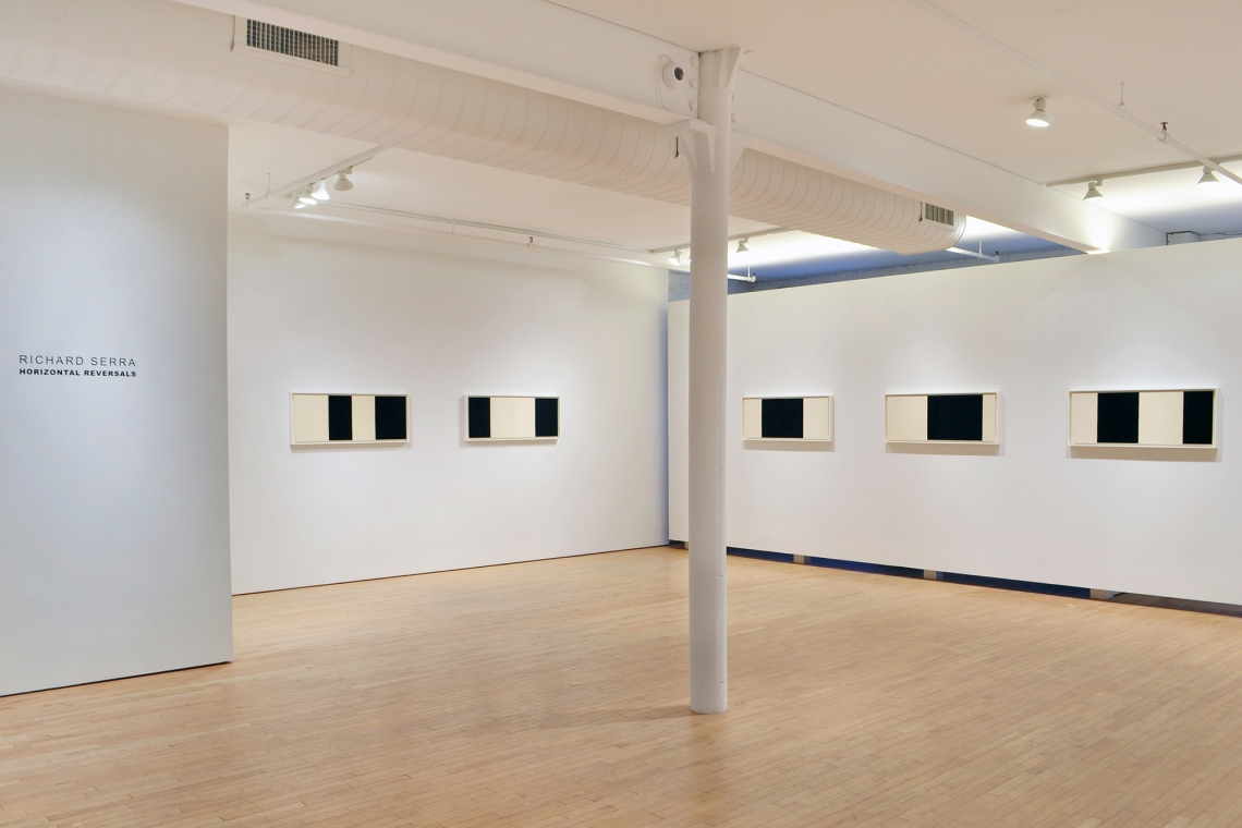 Richard Serra, Horizontal Reversal II, 2017; Horizontal Reversal III, 2017; Horizontal Reversal IV, 2017; Horizontal Reversal V, 2017; Horizontal Reversal VI, 2017.