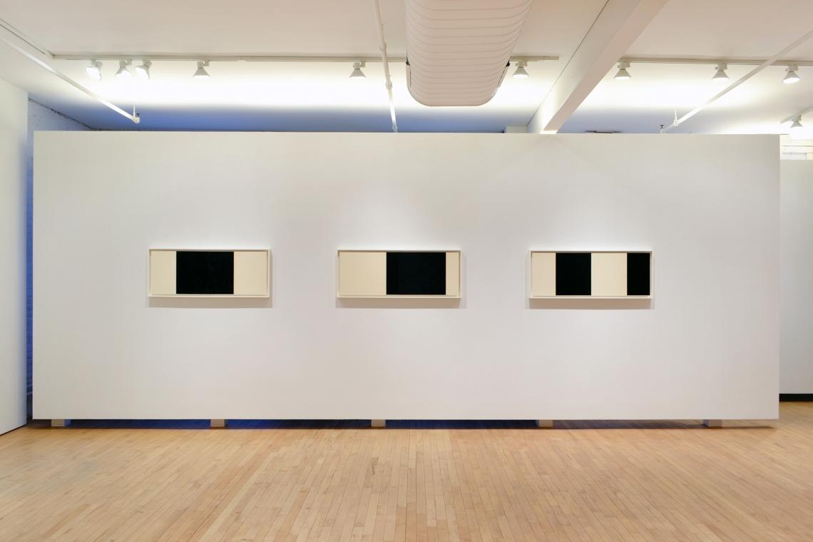 Richard Serra, Horizontal Reversal IV, 2017; Horizontal Reversal V, 2017; Horizontal Reversal VI, 2017.