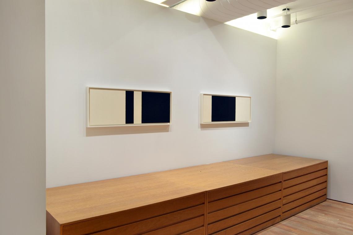 Richard Serra, Horizontal Reversal IX, 2017; Horizontal Reversal X, 2017.