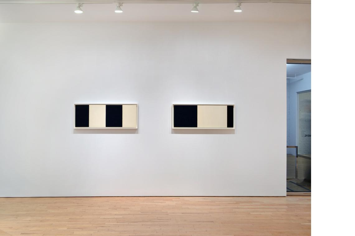 Richard Serra, Horizontal Reversal VII, 2017; Horizontal Reversal VIII, 2017.