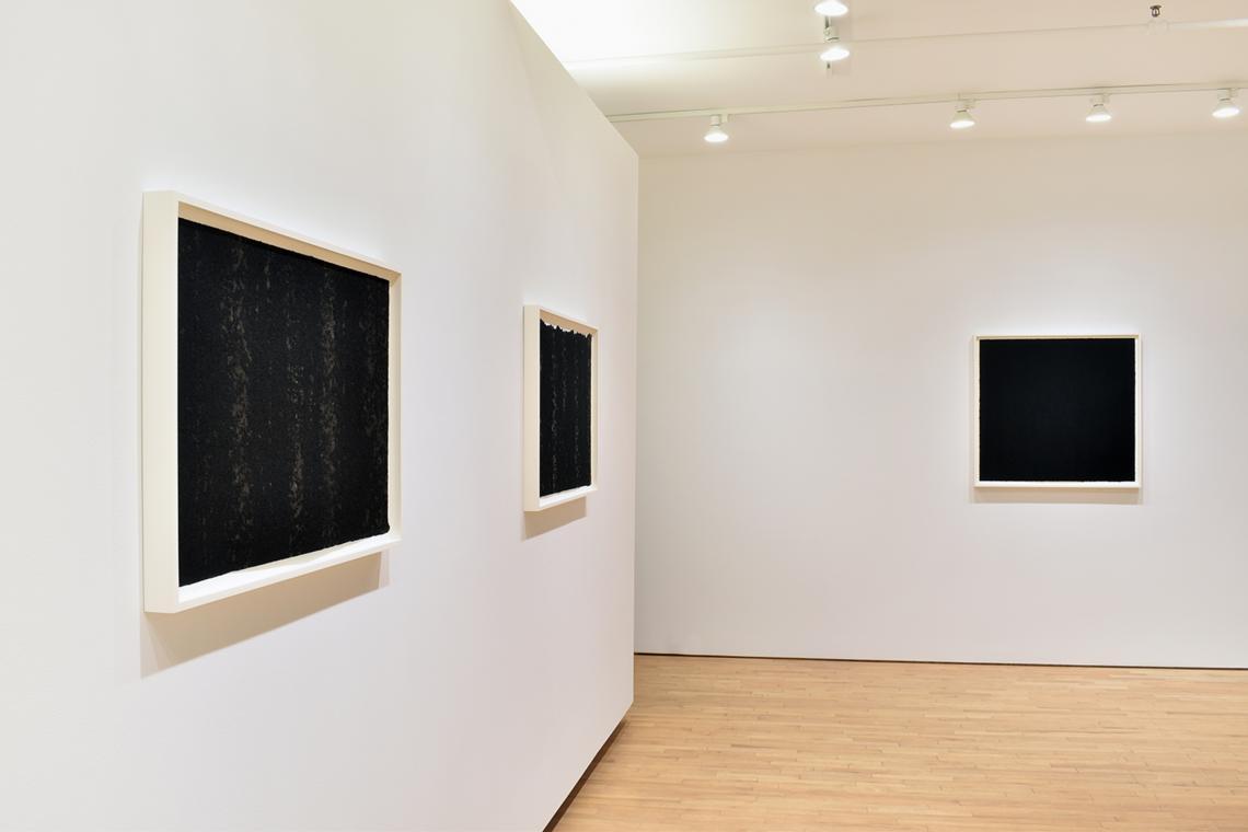 Richard Serra, Composite VI, 2019; Composite VII, 2019; Composite VIII, 2019.