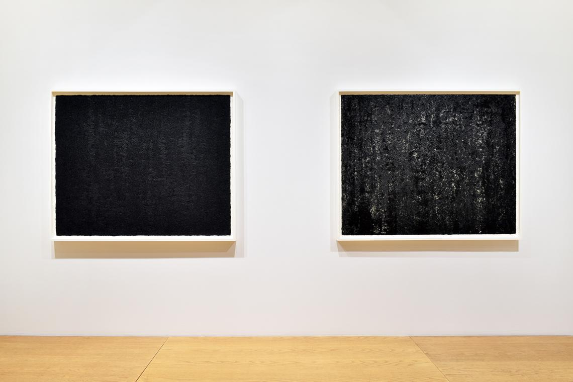 Richard Serra, Composite XXI, 2019; Composite XXII, 2019.
