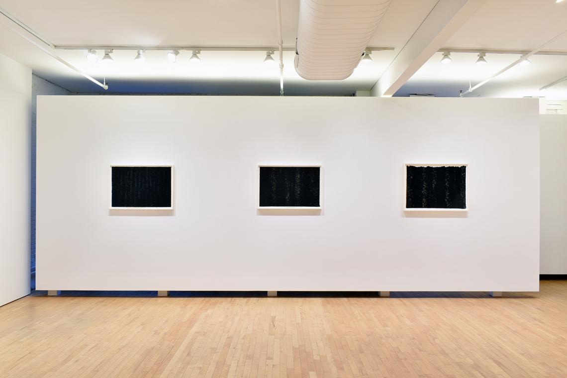 Richard Serra, Composite V, 2019; Composite VI, 2019; Composite VII, 2019.