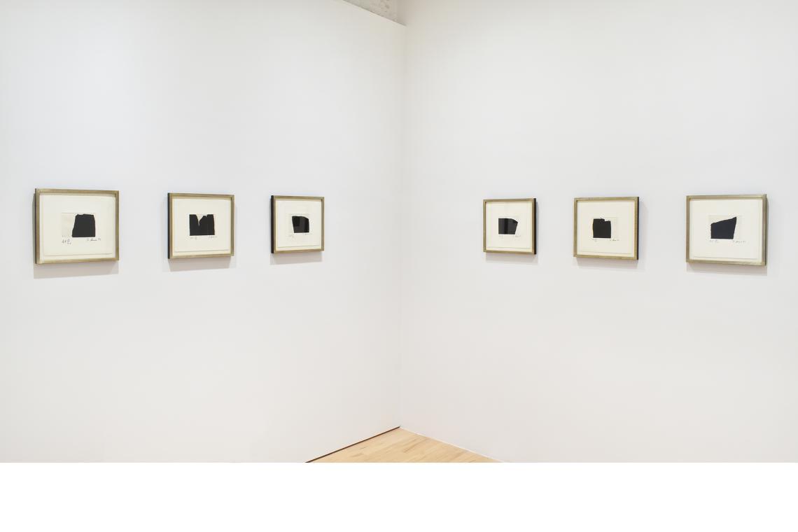 Richard Serra, Videy Afangar #1, 1991; Videy Afangar #4, 1991; Videy Afangar #3, 1991; Videy Afangar #7, 1991; Videy Afangar #5, 1991; Videy Afangar #10, 1991.
