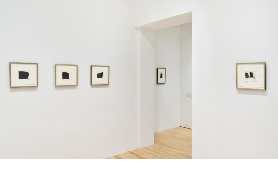 Richard Serra, Videy Afangar #7, 1991; Videy Afangar #5, 1991; Videy Afangar #10, 1991; Videy Afangar #9, 1991; Videy Afangar #6, 1991.