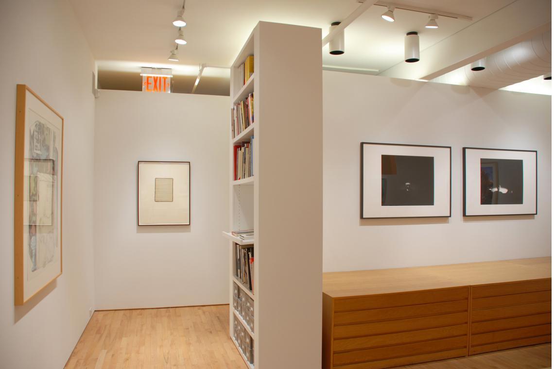 Jasper Johns, Untitled, 1992; Ann Hamilton, script j, 2008; Ann Hamilton, face...mr. innui, 2003;  Ann Hamilton, face...bobby, 2003