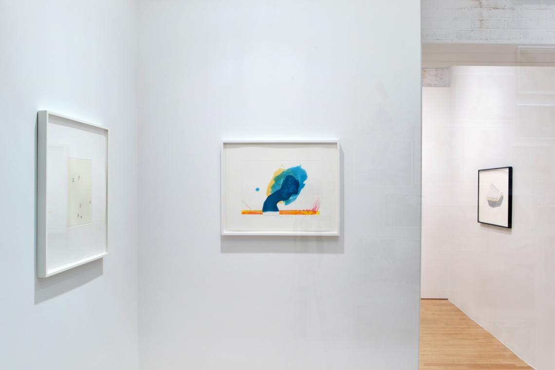"""Richard Tuttle, Nature Media/V, 2014; """"For John Altoon"""", 2011; Looking for Love III, 2015"""
