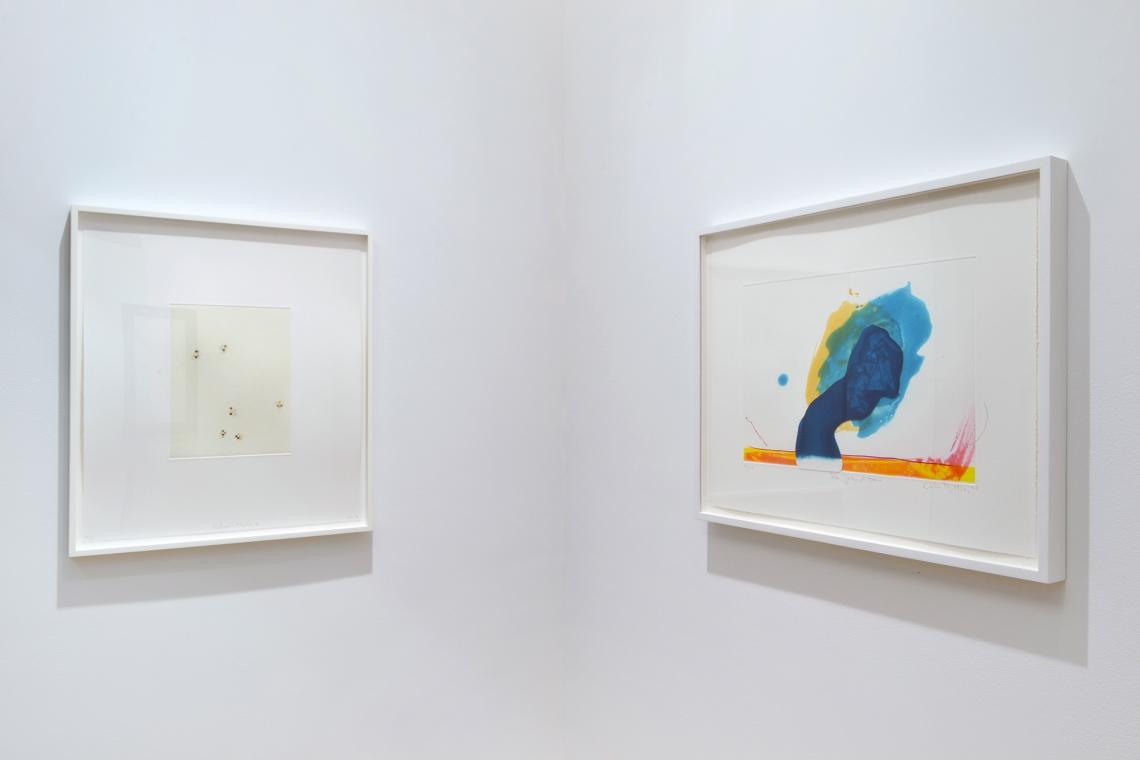 """Richard Tuttle, Nature Media/V, 2014; """"For John Altoon"""", 2011"""