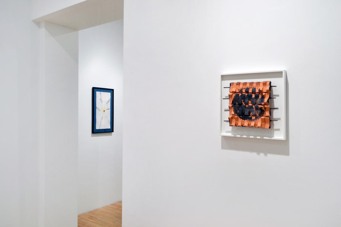 Richard Tuttle, Blossom, 2017; Tile VI (nine inches), 2011