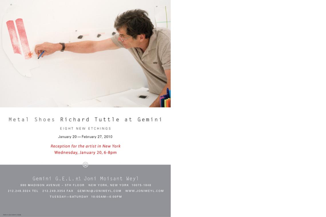 Tuttle Metal Shoes (2010) Announcement Card