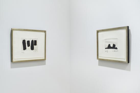 Richard Serra, Videy Afangar #8, 1991; Videy Afangar #2, 1991.