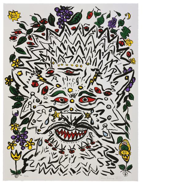 Allen Ginsberg, Untitled #3, 1998