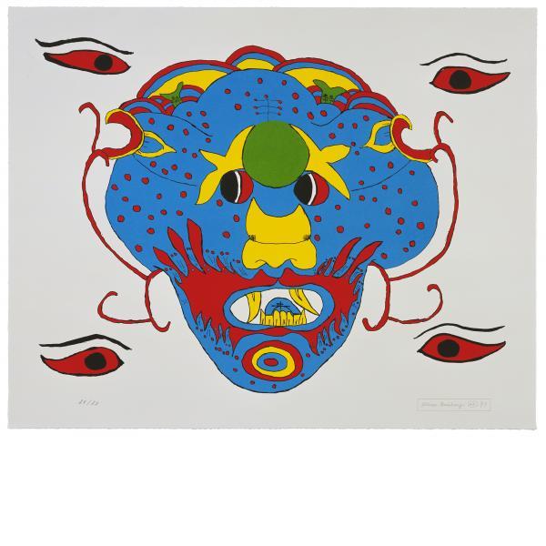 Allen Ginsberg, Untitled #4, 1998