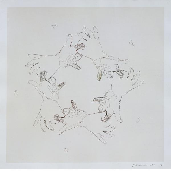 """Bruce Nauman, Untitled (From """"Fingers And Holes""""), 1994"""