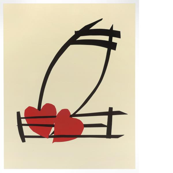 Claes Oldenburg, Musical Hearts, 2012