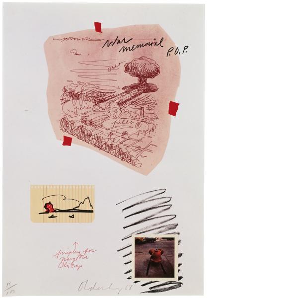 Claes Oldenburg, Notes (Fire Plug), 1968