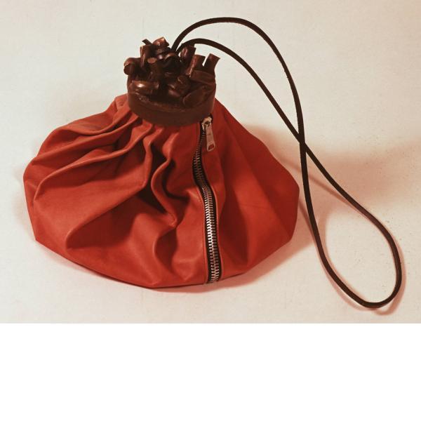 Claes Oldenburg, Double-Nose/Purse/Punching Bag/Ashtray, 1970
