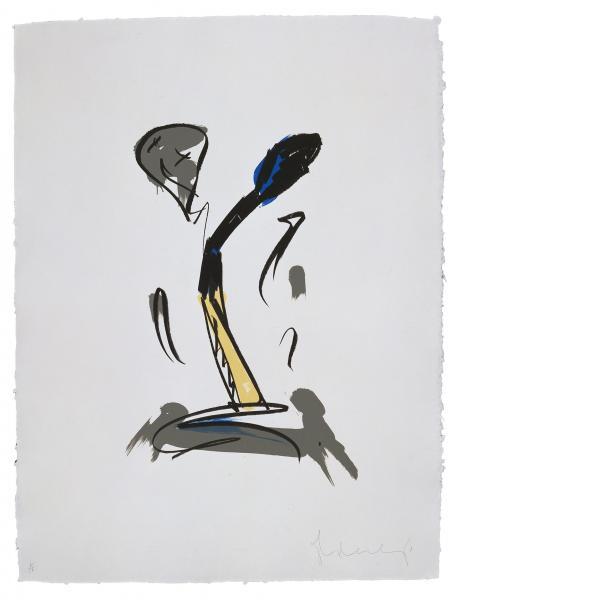Claes Oldenburg, Extinguished Match, 1990