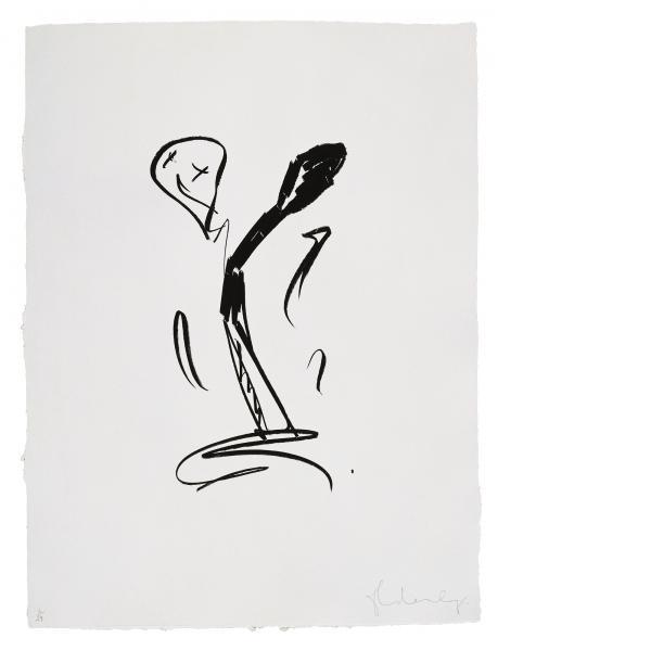 Claes Oldenburg, Extinguished Match - First State, 1990