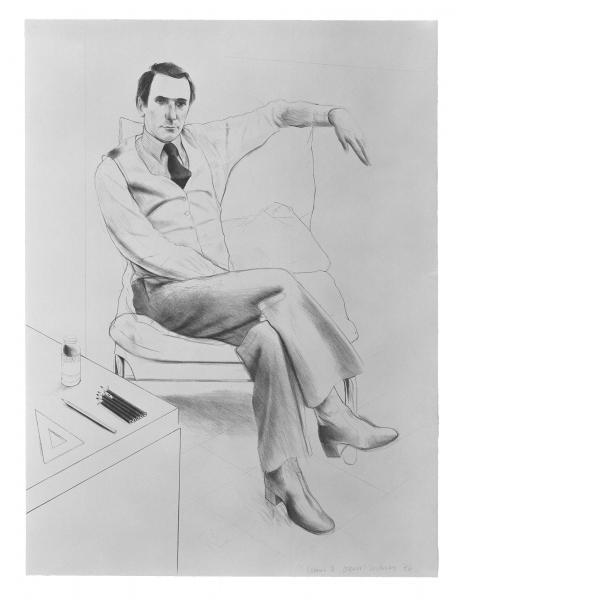 David Hockney, Nicholas Wilder, 1976