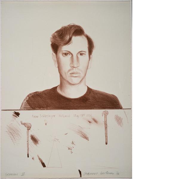 David Hockney, Peter Schlesinger, 1976