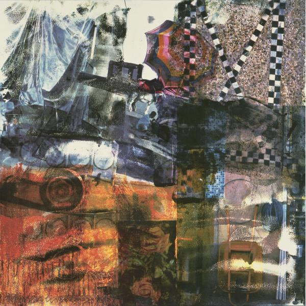 Darryl Pottorf & Robert Rauschenberg, Quattro Mani / Marrakech I, 2000