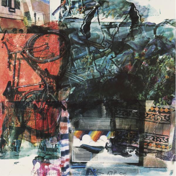 Darryl Pottorf & Robert Rauschenberg, Quattro Mani / Marrakech IV, 2000