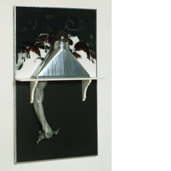 Edward & Nancy Kienholz, Bound Duck-Black, 1991