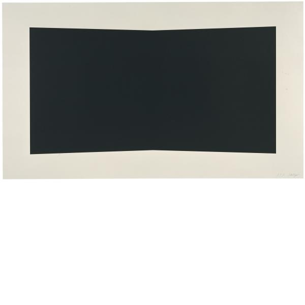 Ellsworth Kelly, Black, 2001
