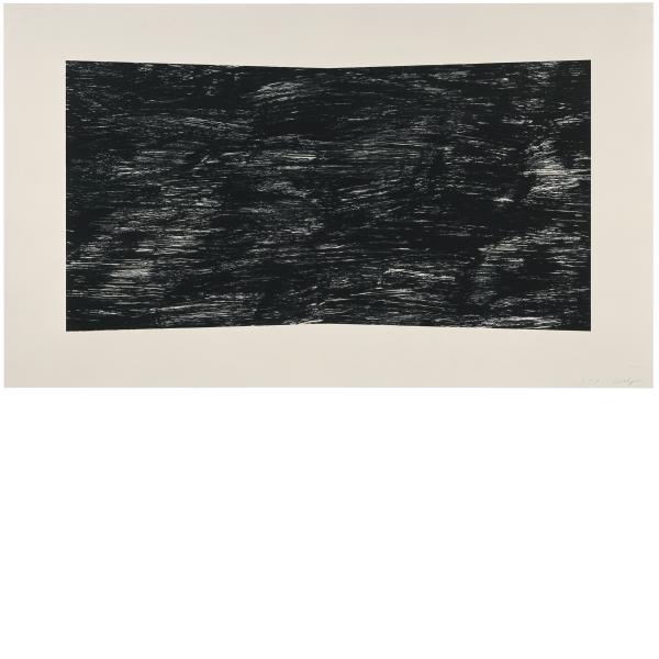 Ellsworth Kelly, Black (Texture), 2001