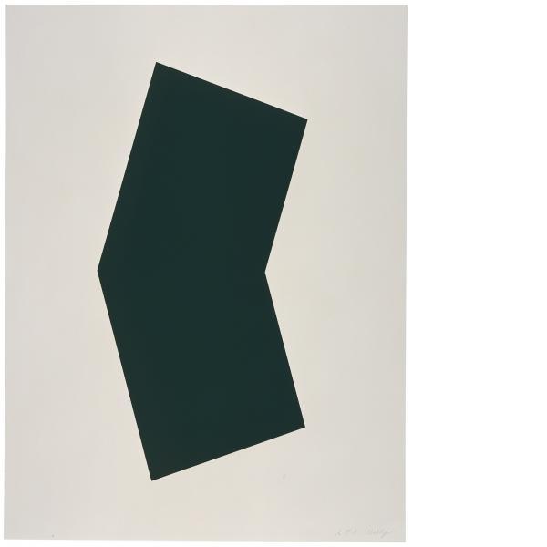 Ellsworth Kelly, Green, 2001