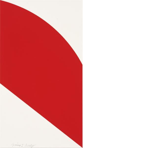 Ellsworth Kelly, Red Curve, 2006