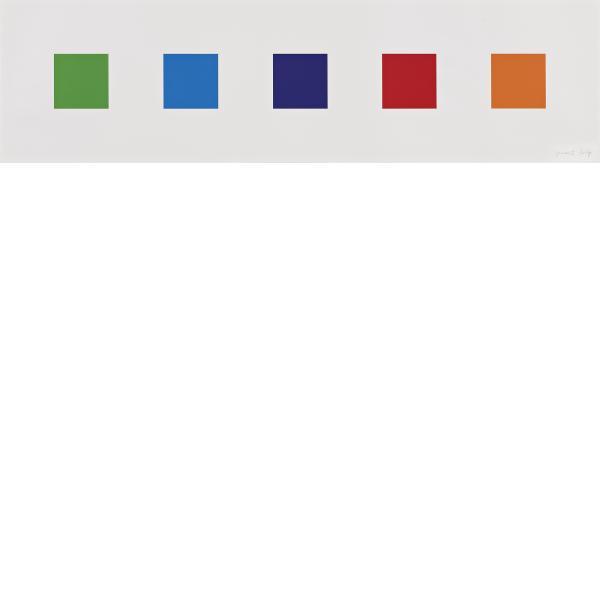 Ellsworth Kelly, Color Squares 1