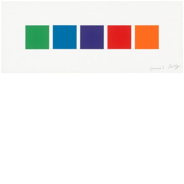 Ellsworth Kelly, Color Squares 3, 2011