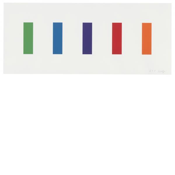 Ellsworth Kelly, Color Panels, 2011