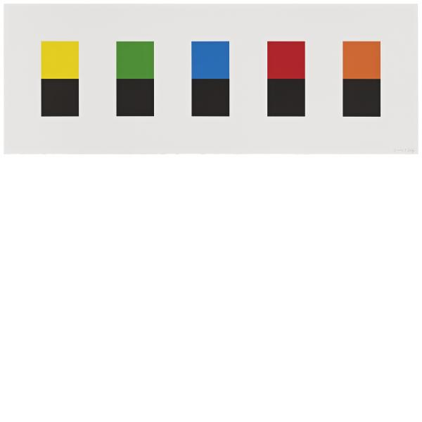Color Over Black, 2012Ellsworth Kelly,